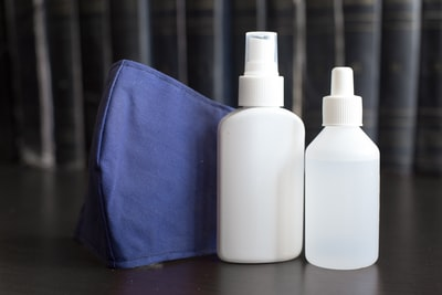 How to disinfect an area and keep your kids safe